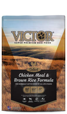 Victor Select Chicken Meal and Brown Rice Dog