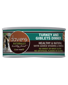 Daves Turkey & Giblets Dinner Cat Can