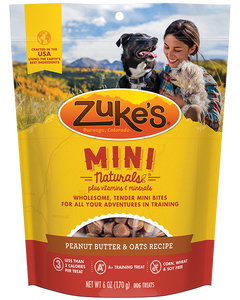 Zuke's Mini Naturals- Peanut Butter Recipe