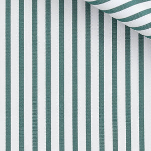 Neil - Green Stripe Twill