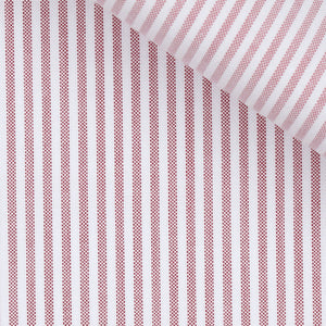 Marvin - Red Stripe Oxford