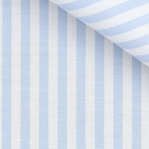 Terrence - Blue Stripe Oxford