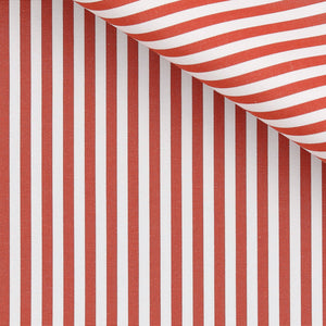 Frederick - Orange Stripe Poplin