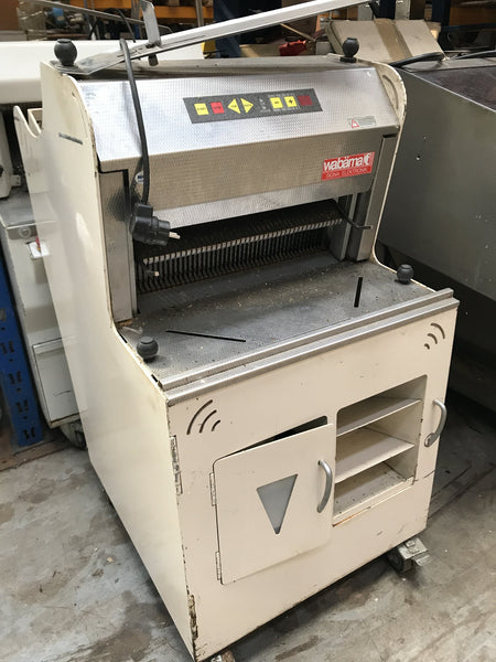 Breadslicer (frame slicer) Wabaema Signa 9 or 10 mm fully automatic, 230 V