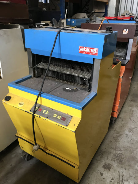 Breadslicer (frame slicer) Wabaema 9 or 10 mm fully automatic - 230 V