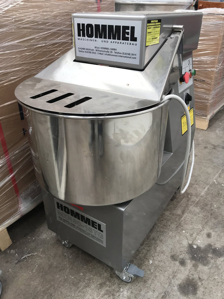 Spiralmixer Hommel MXR 30 - 18 GT with 2 speeds and 1 timer