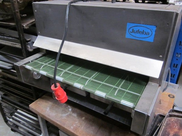 Pretzel baking oven with baking net belt, LN-2