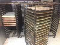 Trolley for W&P Rototherm Rack Oven 18 trays 58/78 cm
