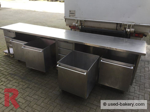 Bakeryworktable / -Bench About 400 Cm