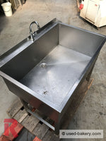 Commercial Sink Made From Stainless Steel About 120 X 70 Sink