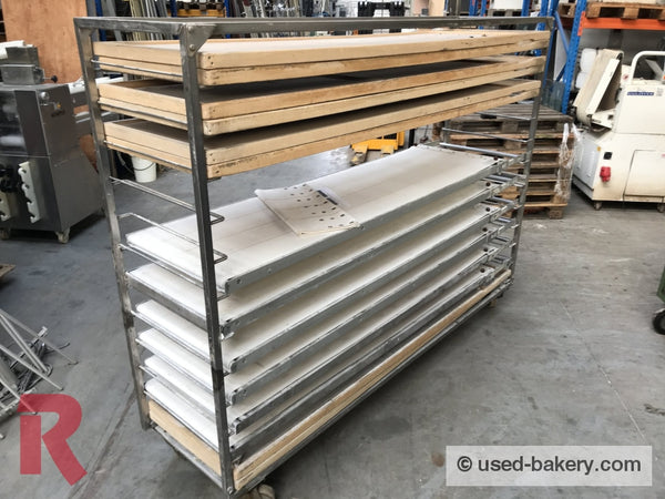 Deck Oven Setters For Daub Thermo-Oil-Deckoven