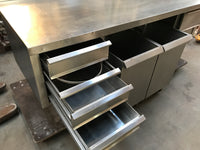 Bakeryworktable / -bench about 190 cm