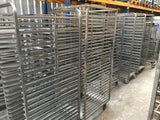 5 x Trolley for trays & sheets 58 x 78 cm