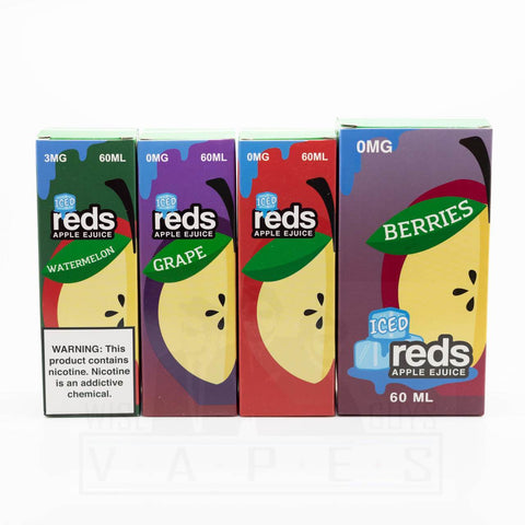 Reds Apple E-Juice ICED by 7 Daze