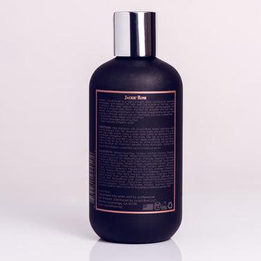 Keratin Conditioner by Jackie Rose - back of bottle