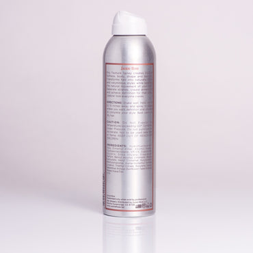 Dry Texture Spray by Jackie Rose - back of bottle