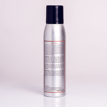 No H2O Dry Shampoo by Jackie Rose - back of bottle