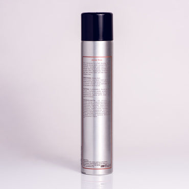 Firm Hairspray by Jackie Rose - back of bottle