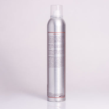 Soft Hairspray by Jackie Rose - back of bottle