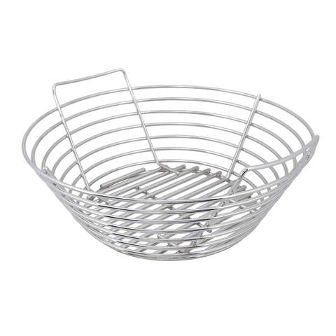 Kick Ash Basket Stainless Steel - Large Big Green Egg - Dickson Barbeque Centre Canada
