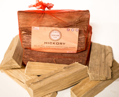 Furtado Farms Cookwood Hickory Logs - Dickson Barbeque Centre Canada