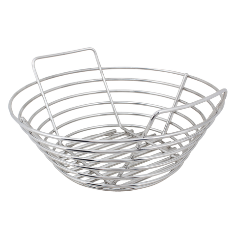 Kick Ash Basket Stainless Steel - Small Big Green Egg - Dickson Barbeque Centre Canada