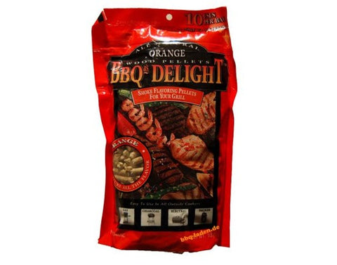 BBQr's Delight Orange Pellets 1 lb. - Dickson Barbeque Centre Canada