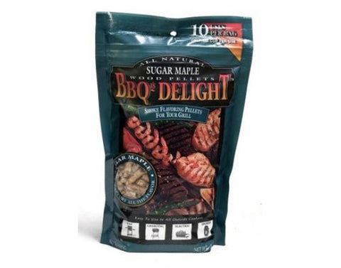 BBQr's Delight Sugar Maple Pellets 1 lb. - Dickson Barbeque Centre Canada