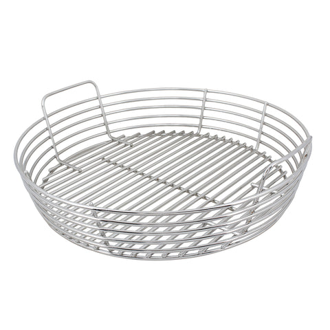 Kick Ash Basket Stainless Steel - XL Big Green Egg - Dickson Barbeque Centre Canada