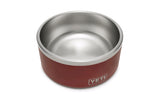 Boomer 8 Dog Bowl - Brick Red