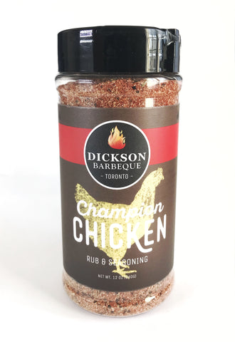 Dickson Barbeque Centre Champion Chicken Rub - Dickson Barbeque Centre Canada