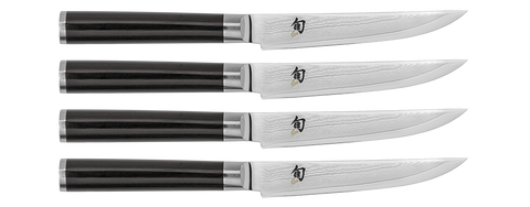 Shun Classic 4-Piece Steak Knife Set - Dickson Barbeque Centre Canada