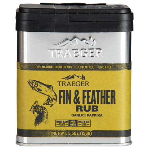 Traeger Fin & Feather Rub - Dickson Barbeque Centre Canada