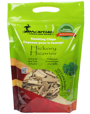 Montana Wood Chips - Hickory - Dickson Barbeque Centre Canada