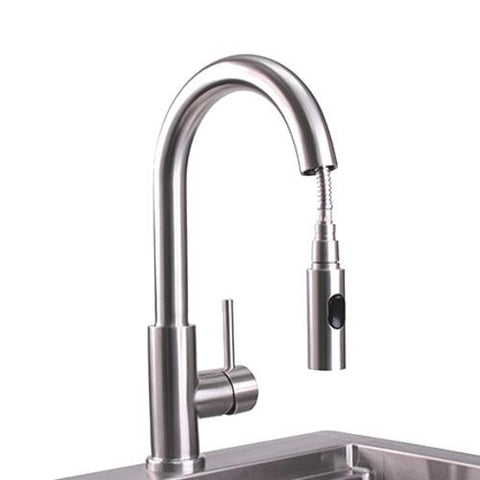 Lynx Outdoor Gooseneck Pull-Down Faucet - Dickson Barbeque Centre Canada