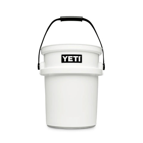 Yeti LoadOut 5-Gallon Bucket - White - Dickson Barbeque Centre Canada