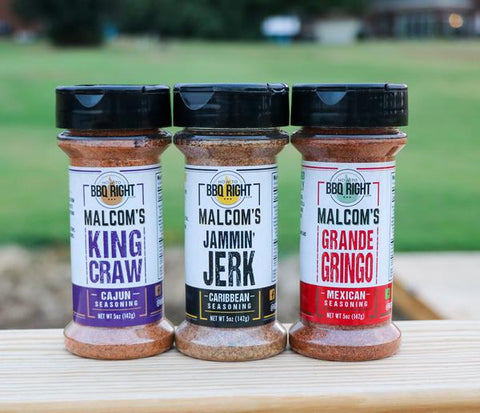 Malcom Reed's Seasoning 3-Pack