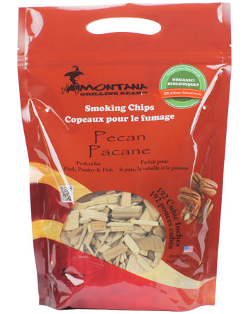 Montana Wood Chips - Pecan - Dickson Barbeque Centre Canada