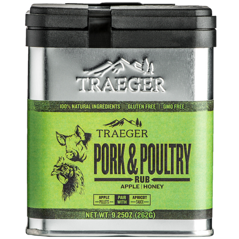 Traeger Pork & Poultry Rub - Dickson Barbeque Centre Canada