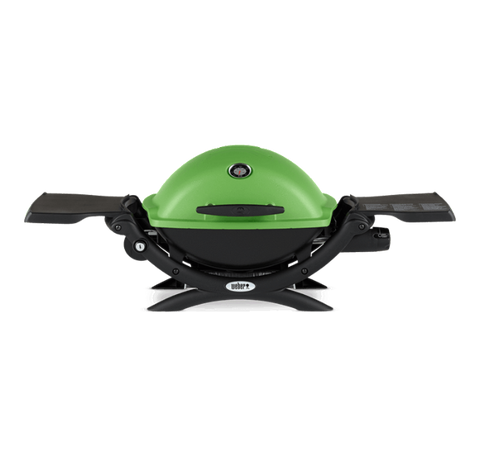 Weber Q 1200 Gas Grill-GREEN - Dickson Barbeque Centre Canada