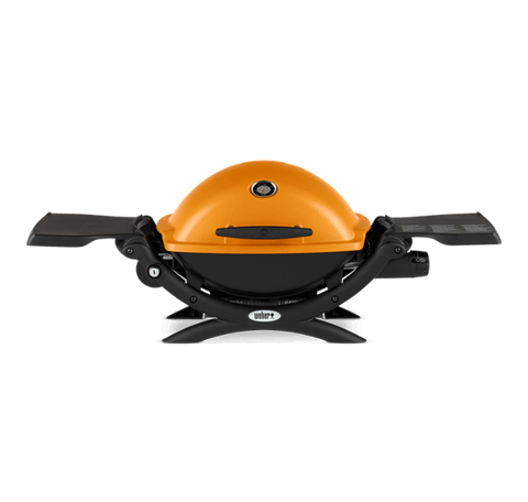 Weber Q 1200 Gas Grill-ORANGE - Dickson Barbeque Centre Canada