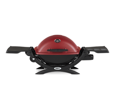 Weber Q 1200 Gas Grill-RED - Dickson Barbeque Centre Canada