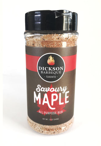 Dickson Barbeque Centre Savoury Maple Rub - Dickson Barbeque Centre Canada