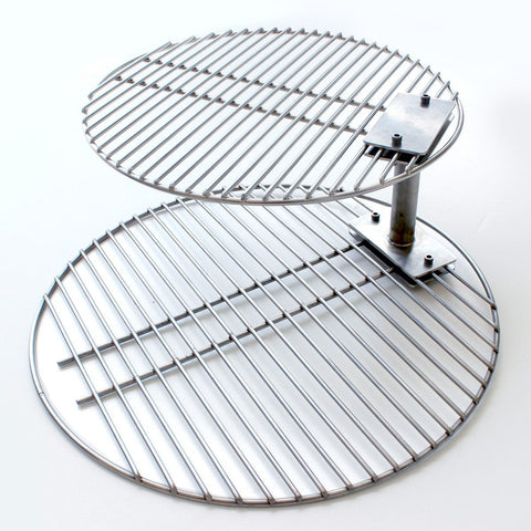 Smokeware Grate Stacker + Grill Grate COMBO - Large - Dickson Barbeque Centre Canada