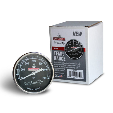 "Smokeware 3"" Temperature Gauge - Dickson Barbeque Centre Canada"