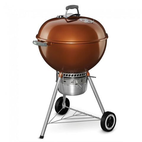 "Weber 22"" Premium Kettle-COPPER - Dickson Barbeque Centre Canada"