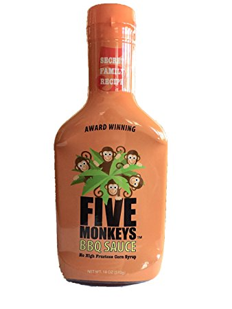 Five Monkeys Original BBQ Sauce - Dickson Barbeque Centre Canada