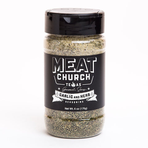 Meat Church Gourmet Series - Garlic & Herb - Dickson Barbeque Centre Canada