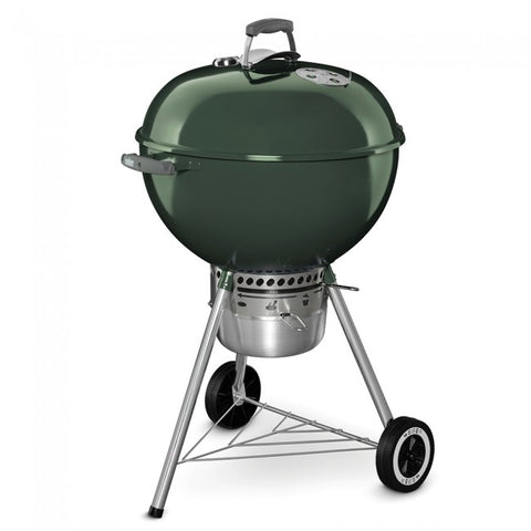"Weber 22"" Premium Kettle-GREEN - Dickson Barbeque Centre Canada"