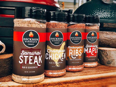 Dickson Barbeque Centre Dickson BBQ Rub 4 Pack - Dickson Barbeque Centre Canada